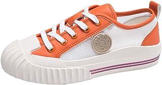 RAZAMAZA Women Casual Skatebord Shoes Lace Up Sneakers