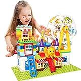 Large Building Blocks Set for Toddlers Age 2 3 4 5 6 (Amusement Park)