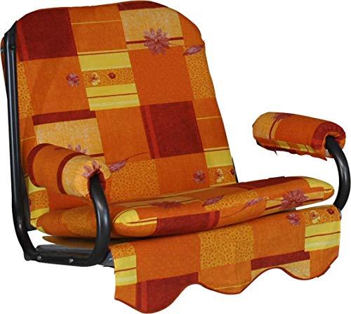 Angerer 1017/193 Toledo Coussin à Bascule 1 Place pour Fauteuil à Bascule Motif Toledo Gris 178 x 56 x 56 cm