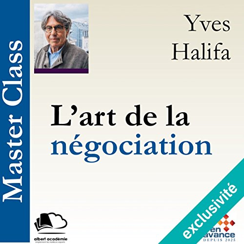 L'art de la négociation (Master Class) audiobook cover art