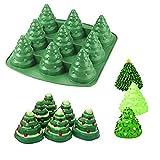 Bluelover &Ndash; Molde De Silicona Para Cookies En 3D Con ÁRbol De Navidad