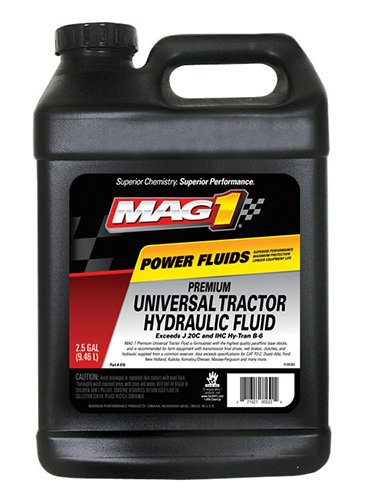 Mag 1 019-2PK Universal Tractor Hydraulic Transmission Fluid - 2.5 Gallon, (Pack of 2)