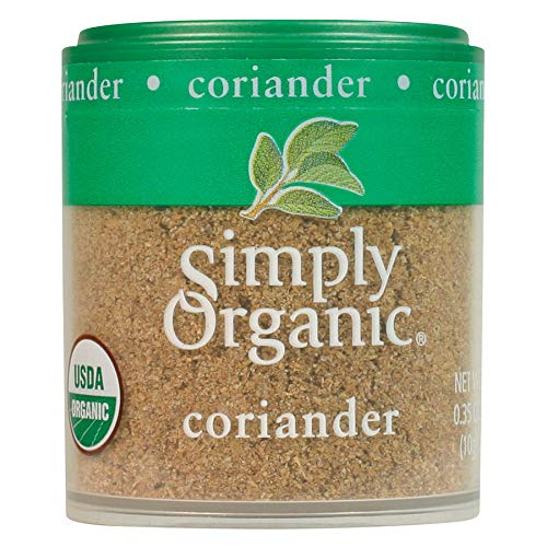 Seattle Mall Simply Organic Ground Coriander 0.35 o Certified lowest price Seed
