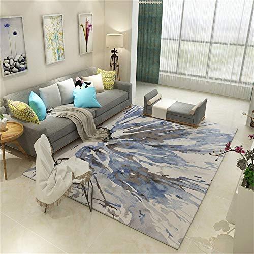 Woonkamertapijt, Scandinavische stijl, voor moderne eetkamer en slaapkamer, slaapbank, bijzettafel, tapijt met kleurschildering, 160 × 230 cm, voetmatten nr. 200×300cm