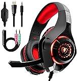 Auriculares Gaming Premium Stereo con Microfono para PS4 PC Xbox One,...