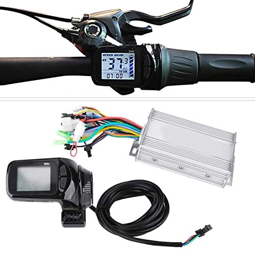 24V36V48V60V 450W 500W 1000W Kit de controlador sin escobillas de bicicleta eléctrica Scooter controlador de motor con pantalla LCD Control (color: 48V 500W, tamaño: gratis) JoinBuy.R