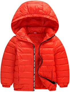 Toddler Baby Boy Down Jacket Hooded Windproof Waterproof Padded Warm Coat Winter Clothes