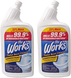 Home Care 655257427560 2-Pack Lab The Works Toilet Bowl Cleaner, Natural Organic, 32-Ounce, Pack of 2
