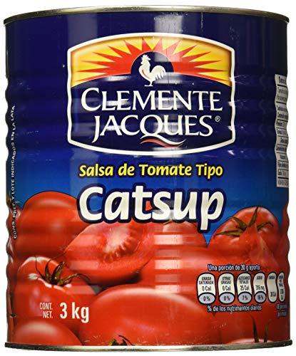 CLEMENTE JACQUES 1957 Clemente Jacques Catsup De 3 Kg, 3 kilogramos