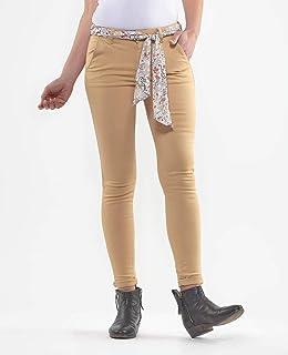 Le Temps des Cerises Pantalon Lidy Slim Beige