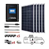 ACOPOWER 500 Watts 12/24 Volts Polycrystalline Panel Solar RV Kits...