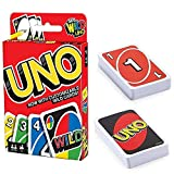 UNO Card Game with 112 Cards,Basic Pack(Red)