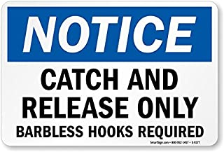 catch and release signs