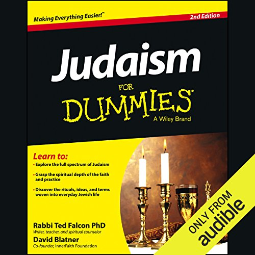 Judaism for Dummies, 2nd Edition Titelbild