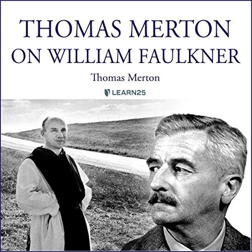 Thomas Merton on William Faulkner audiobook cover art