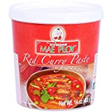 Mae Ploy Thai Red Curry Paste - 14 ounce per jar