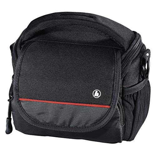Hama Monterey schoudertas zwart - cameratas/-koffer (schoudertas, universeel, schouderriem, zwart)