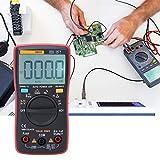 Multímetro digital de prueba de capacitancia de resistencia de alta precisión, para electricista para probar corriente CA/CC para fábricas de laborator