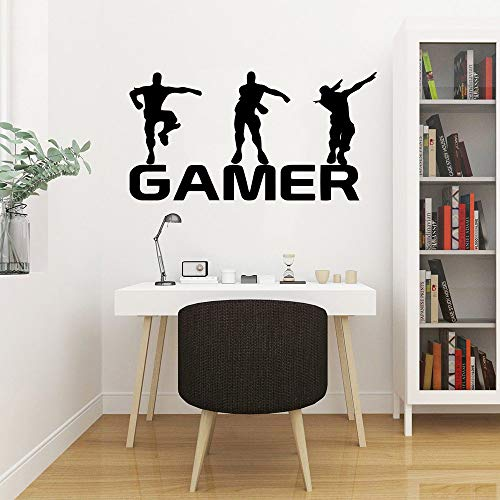 GADGETS WRAP 2020 New Gamer Wall Sticker for Game Room Decor Kids Room Decoration Bedroom Decor Door Vinyl Stickers Mural Gaming Poster