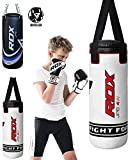 RDX Kids Heavy Boxing 2FT Punching Bag UNFILLED MMA Punching Training...