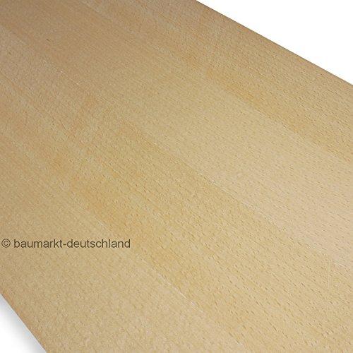 Echtholzfurnier ohne Schmelzkleber 280x28cm Buche gedämpft