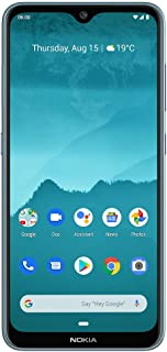 "Nokia 6.2 - Android 9.0 Pie - 64 GB - Triple Camera - Unlocked Smartphone (AT&T/T-Mobile/MetroPCS/Cricket/Mint) - 6.3"" FHD..."