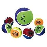 ICA DK2 Juguete Blíster con Dos Pelotas Tenis para Perros