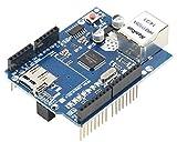 TECNOIOT Ethernet Shield W5100 for Arduino 100% Compatible  Scudo Ethernet di Alta qualità W5100 per Arduino Compatibile al 100%