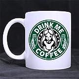 Starbucks - Taza de café con diseño de Alicia en el país de las maravillas