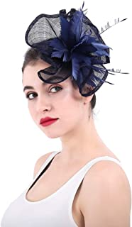 ASKLKD Lady Plume Accessoires Cheveux Bandeau Métal Bande Cheveux Bibi Mascarade Swan