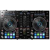 Pioneer DJ DJ Controller, Black, 6.00 x 25.10 x 16.90 (DDJRR)