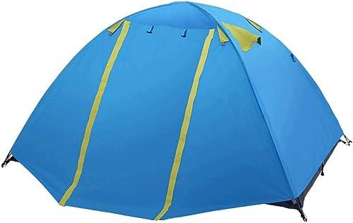Tentes D'extérieur, Camping Camping De Randonnée, Couples pour 2 Personnes Obligés De Sortir pour Se Prougeéger du Soleil, Deux Couleurs