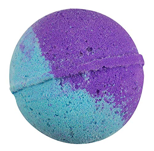 Sense Sation Vanilla & Chamomile Bath Bomb USA Handmade Spa Bath Fizzies 4.5 oz. Organic Essential Oil, Fizzy & Colorful, Aromatherapy & Moisturizing, Vegan & Gluten Free Gift Idea