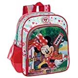 Disney 2392151 Minnie Strawberry Mochila Infantil, 6.44 litros, Color Rosa