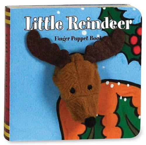 Finger Puppet Holiday 8c Clip Strip: Little Reindeer: Finger Puppet Book (Little Finger Puppet Board Books)