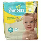 Pampers Premium Protection Pack de 24 Couches 8-16 kg Taille 4