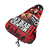 DavidMCostner Red Dead Redemption 2 Bike Cover for Seat Adjustable Bike Seat Cover Outdoor Storage Waterproof Bicycle seat Cover Universal Dust Cushion Covers