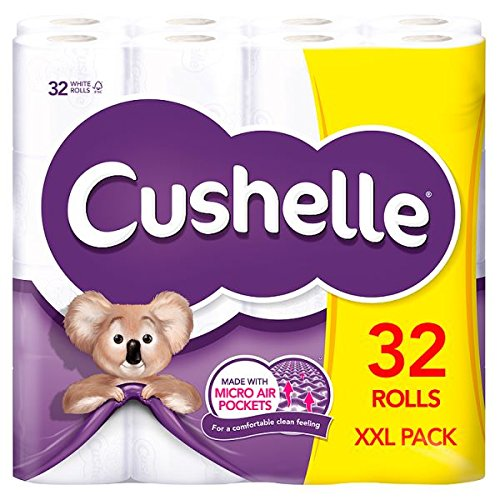 Cushelle-XXL-32-Rolls-of-Toilet-Paper-Pack-of-32-Rolls