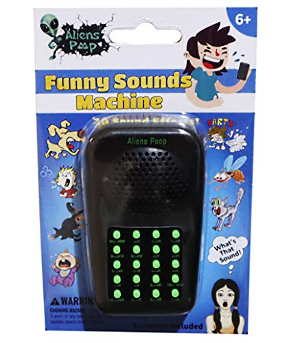 Aryellys Sound Machine with 20 Sound Effects Funny Sounds for Kids and Adults Gags, Pranks, Jokes Sound Maker for Videos Fart, Burp, Game Over