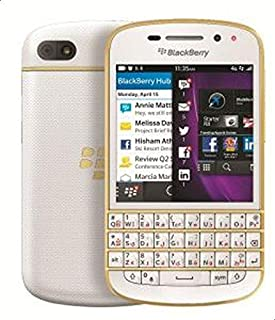 BlackBerry Q10 - 16GB, 4G LTE, White\Gold - Gold