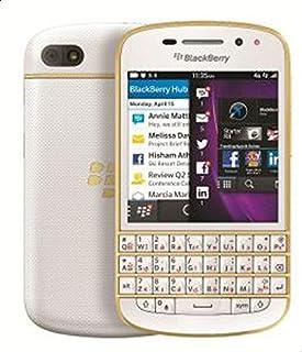 BlackBerry Q10 - 16GB, 4G LTE, White\Gold - Gold