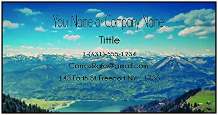 online shop Design Your Own Business Free shipping Cards from demand Only Front printing