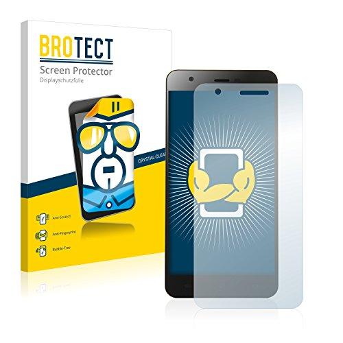 BROTECT Schutzfolie kompatibel mit Jiayu S3 Plus (2 Stück) klare Bildschirmschutz-Folie