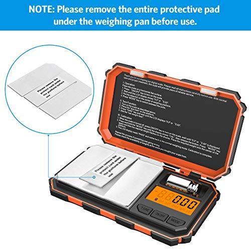 Brifit Digital Mini Scale, 200g /0.03g Pocket Scale