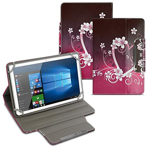 UC-Express Schutz Tasche für Smartbook S10 / S10Q Hülle Tablet Schutzhülle Cover Case Etui, Motiv:Motiv 1