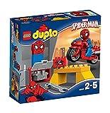 LEGO Duplo 10607 - Spider-Man, Motorrad-Werkstatt, Spielzeug
