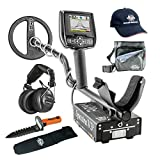 Spectra V3i Whites Metal Detector Geared UP Bundle with Wireless Headphones