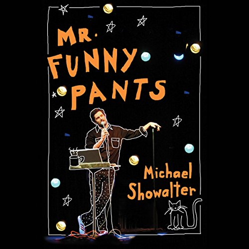 Mr. Funny Pants audiobook cover art