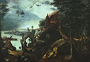 Landscape with the Temptation of Saint Anthony by Pieter Bruegel The Elder - 21