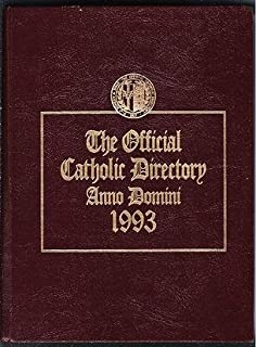 The Official Catholic Directory Anno Domini 1993